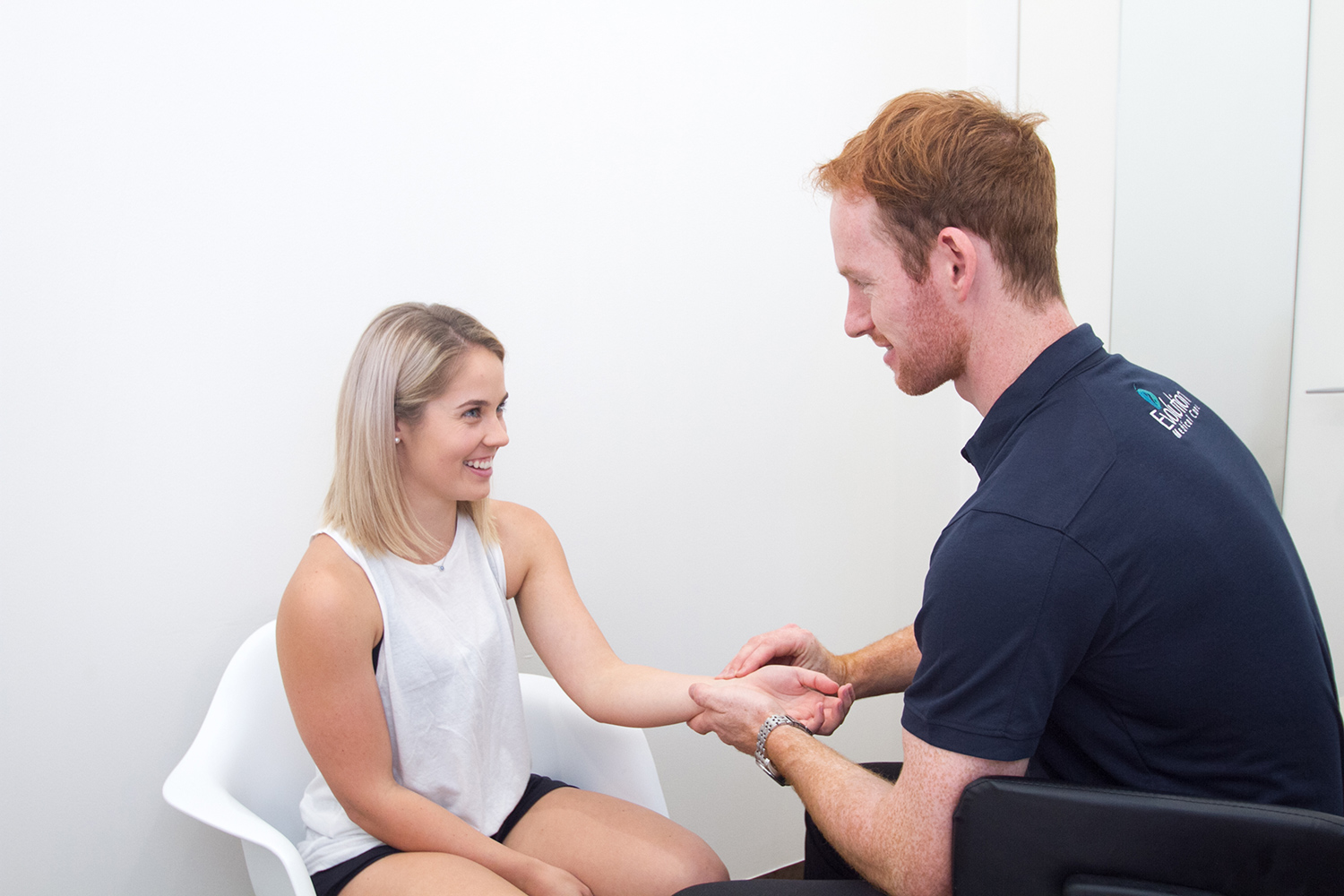 Practitioner Consulting With Anxiety Patient